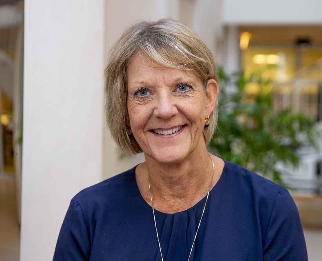 Nykøbing Katedralskoles rektor Kirsten Danving