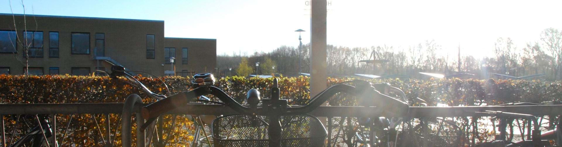 Cykelstyr i cykelskur