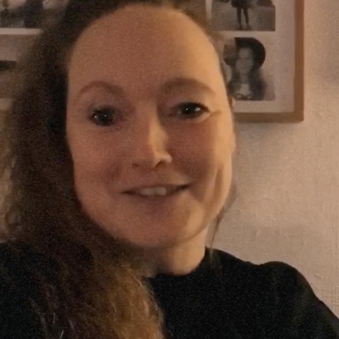 Billede af Carina som blev student i 1999
