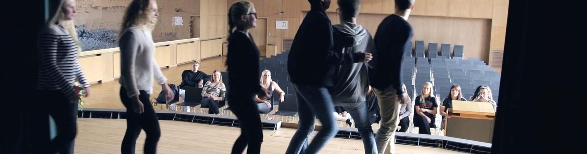 Drama undervisning på scene